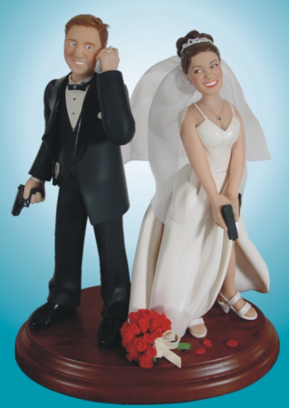 These cake toppers are works