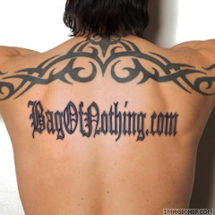 Name Tattoo On Back