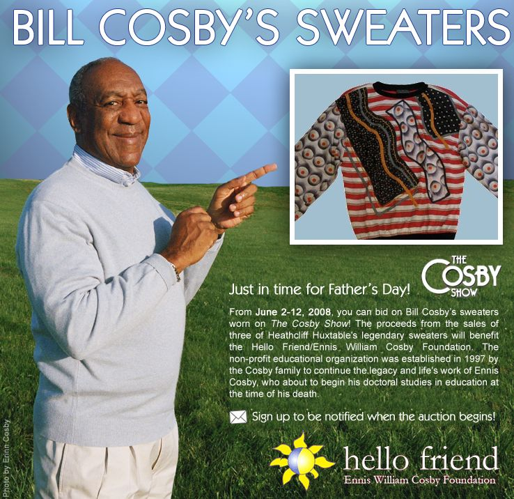 LOS ANGELES (AP)       Not everyone can be Dr. Cliff Huxtable, the quick-with-a-quip dad that Bill Cosby played on TV for eight years