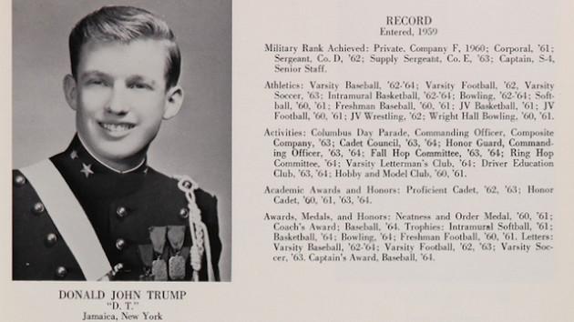 Trump-in-Military-school